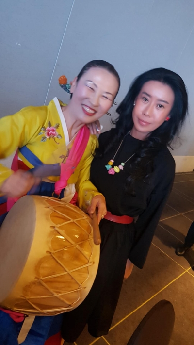 Sally Yu at South Korean Semi-Permanent Makeup Competition