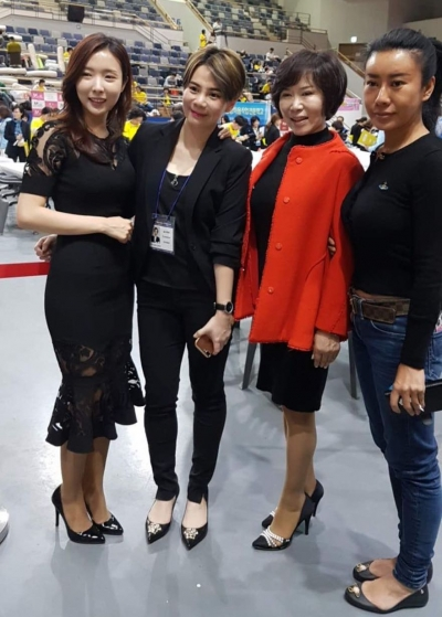 Sally Yu at South Korean Semi-Permanent Cosmetic Competition