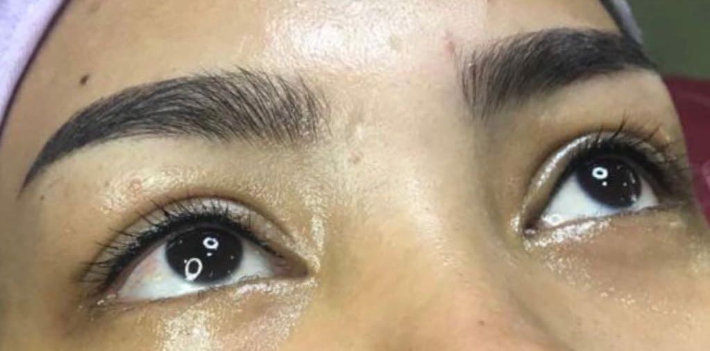 Semi-Permanent Eyeliner (Microblading). iBrow Studio, Hove